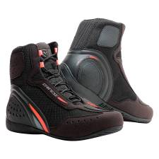 MOTORSHOE D1 DWP BLK/FLUO-RED/ANTHRACITE DAINESE