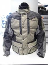 JACKET DAINESE D-STORMER  D-DRY BLK-PEYOTE