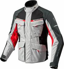 TZAKET REVIT OUTBACK 2 SILVER/RED