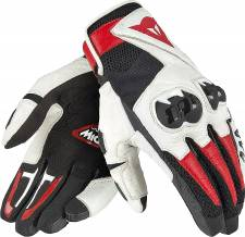 MIG C2 GLOVES BLACK/WHITE/RED DAINESE