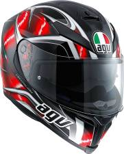 ΚΡΑΝΟΣ K-5 S AGV E2205 MULTI PLK HURRICANE BLK/RED/WHITE