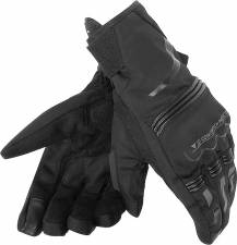TEMPEST UNISEX D-DRY SHORT GLOVES BLACK DAINESE