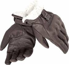SPENCER GLOVES DARK BROWN DAINESE
