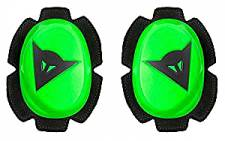 PISTA KNEE SLIDER FLUO-GREEN/BLACK DAINESE