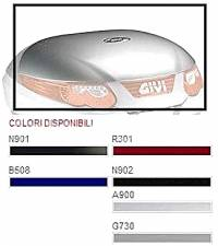 COVER BLACK FOR CASE GIVI C55-N901(BLACK METALIC)