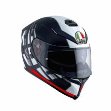 ΚΡΑΝΟΣ K5 S AGV E2205 MULTI MPLK DARK STORM MATT BLK/RED