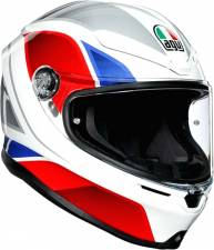 ΚΡΑΝΟΣ K6 AGV ECE MULTI MPLK HYPHEN WHITE/RED/BLUE