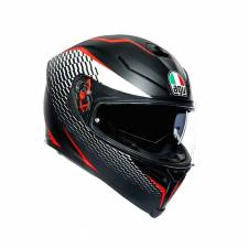 ΚΡΑΝΟΣ K5 S AGV E2205 MULTI MPLK THUNDER MATT BLK/WHITE/RED