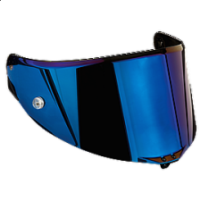 VISOR RACE 2 AS IRIDIUM BLUE AGV