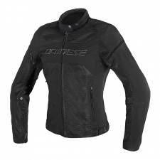 AIR-FRAME D1 LADY TEX JACKET BLACK/BLACK  DAINESE
