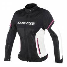 AIR-FRAME D1 LADY TEX JACKET BLACK/VAPORUS-GRAY/FUXIA