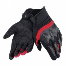 AIR FRAME UNISEX GLOVES BLACK/RED DAINESE