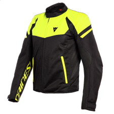 BORA AIR TEX JACKET BLACK/WHITE DAINESE