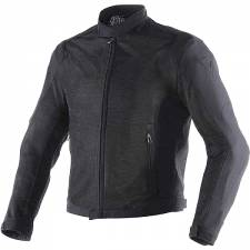 AIR FLUX D1 TEX JACKET BLACK/BLACK DAINESE