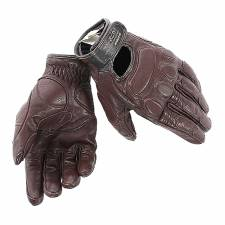 BLACKJACK GLOVES DARK BROWN DAINESE