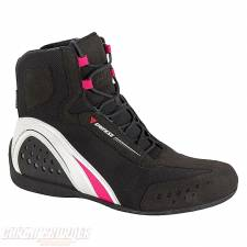 MOTORSHOE LADY D-WP SHOES JB BLACK/WHITE/FUCHSIA DAINESE