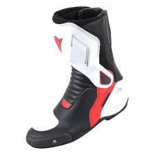 NEXUS BOOTS BLK/W/RED DAINESE