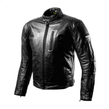 JACKET LEATHER SHIMA HUNTER BLACK