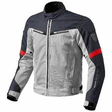 JACKET REVIT AIRWAVE 2 SILVER-RED