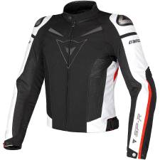 SUPER SPEED TEX JACKET BLACK/WHITE/RED DAINESE